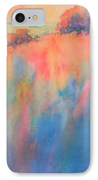 Hill Country Abstract No 1 IPhone Case by Virgil Carter
