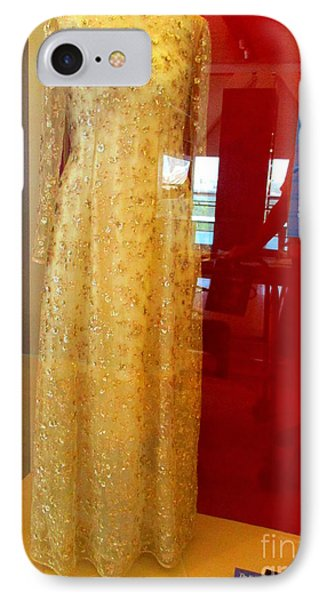Hillary Clinton State Dinner Gown IPhone Case by Randall Weidner