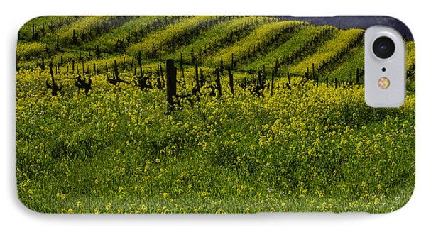 Hills Of Mustard Grass IPhone Case by Garry Gay