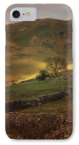 Hills Of Scotland At The Sunset IPhone Case by Jaroslaw Blaminsky
