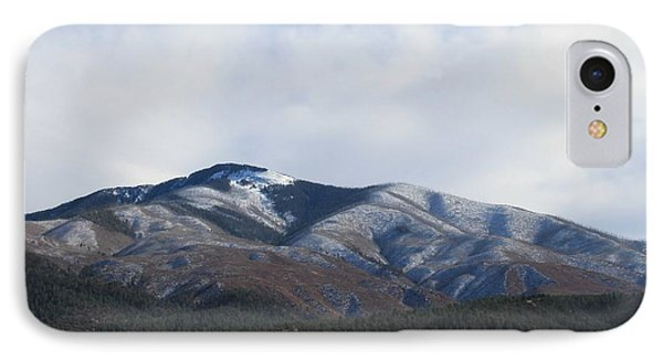Hills Of Taos IPhone Case by Christopher Kirby