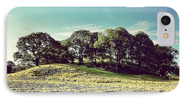 #hills #trees #landscape #beautiful IPhone Case by Samuel Gunnell