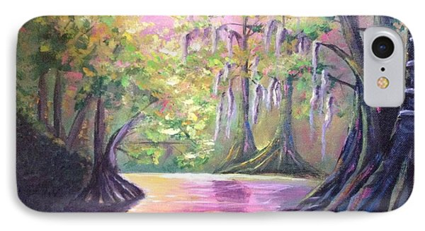 Withlacoochee River Nobleton Florida IPhone Case