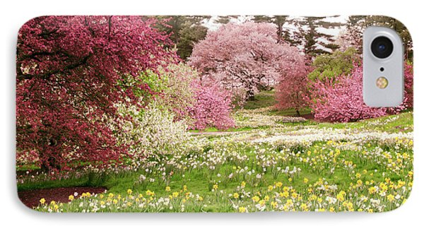 IPhone 7 Case featuring the photograph Hillside Bloom by Jessica Jenney