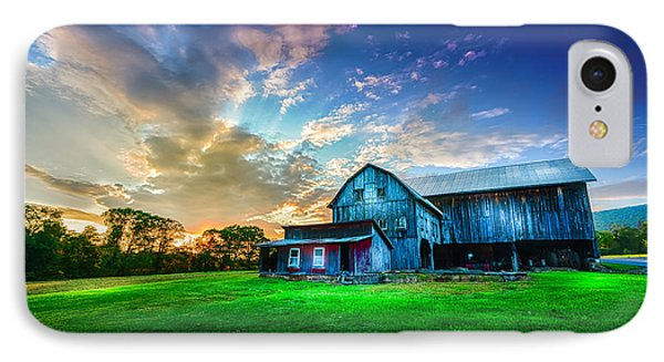 Hillside Sunset IPhone Case by Marvin Spates