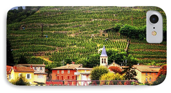 IPhone Case featuring the photograph Hillside Vineyard France by Tom Prendergast