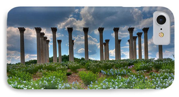 Hilltop Pillars Phone Case by Kevin Hill