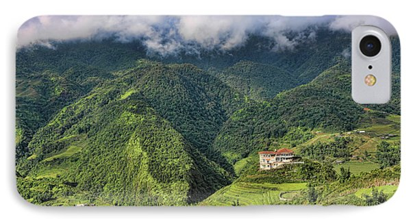 Hilltop Sapa IPhone Case by Chuck Kuhn