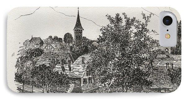 Hilterfingen IPhone Case by Paul Klee