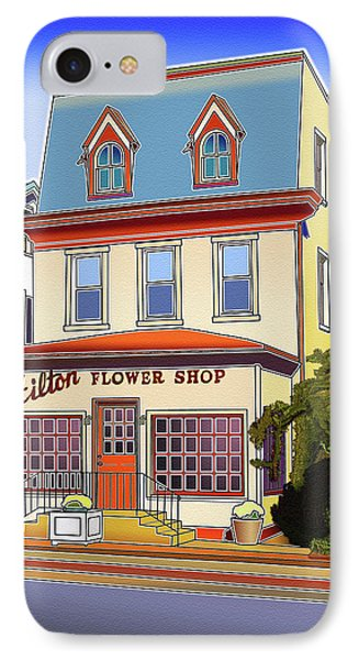 Hilton Flower Shop Phone Case by Stephen Younts