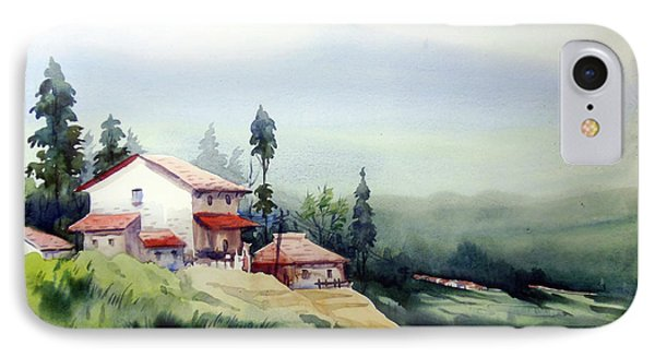 Himalaya Village IPhone Case by Samiran Sarkar