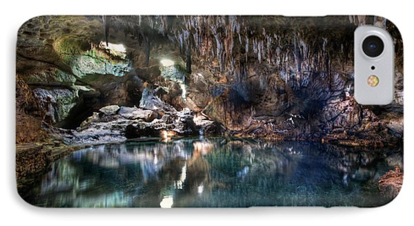 IPhone Case featuring the photograph Hinagdanan Cave by Yhun Suarez