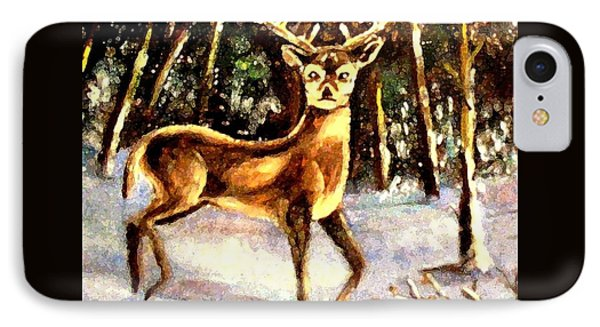 IPhone Case featuring the painting Hinds Feet by Hazel Holland
