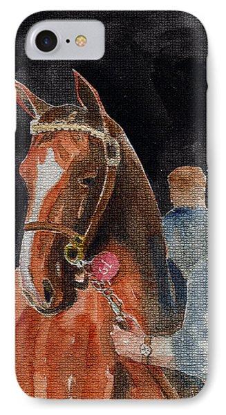 Hip No. 61 Chestnut Colt Phone Case by Arline Wagner