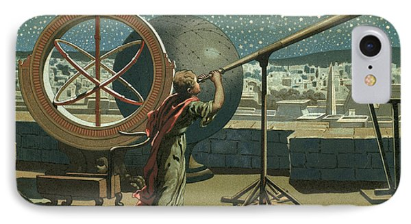 Hipparchus In The Observatory In Alexandria IPhone Case