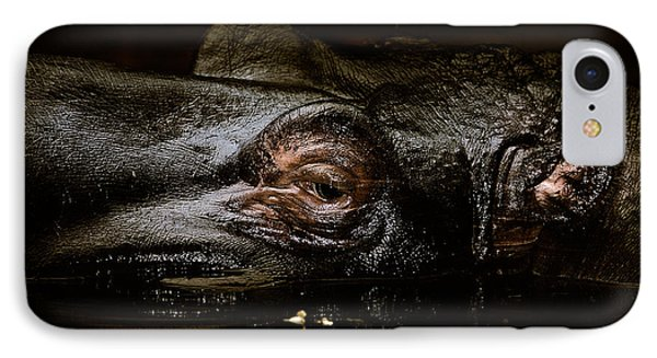 IPhone Case featuring the photograph Hippo by Joerg Lingnau