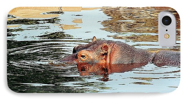 Hippo Scope Phone Case by Jan Amiss Photography