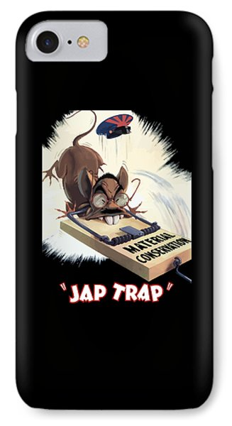 Hirohito As A Rat IPhone Case