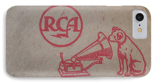IPhone Case featuring the photograph His Masters Voice Rca by Edward Fielding
