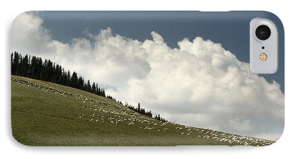IPhone Case featuring the photograph His Pastures.. by Al  Swasey