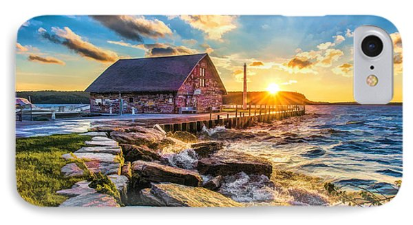 Historic Anderson Dock In Ephraim Door County IPhone Case by Christopher Arndt