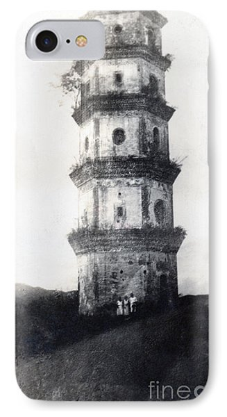 Historic Asian Tower Building IPhone Case