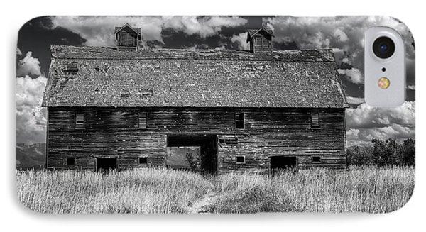 Historic Blasdel Barn In Kalispell IPhone Case