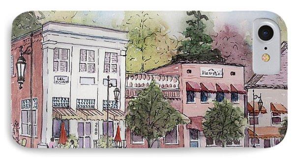 Historic Blue Ridge, Georgia IPhone Case by Gretchen Allen