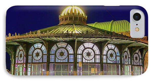 Historic Carousel Building, Asbury Park Nj IPhone Case by Bob Cuthbert