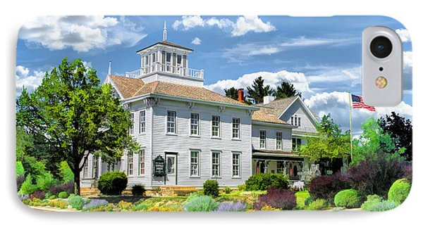 Historic Cupola House In Egg Harbor Door County IPhone Case by Christopher Arndt