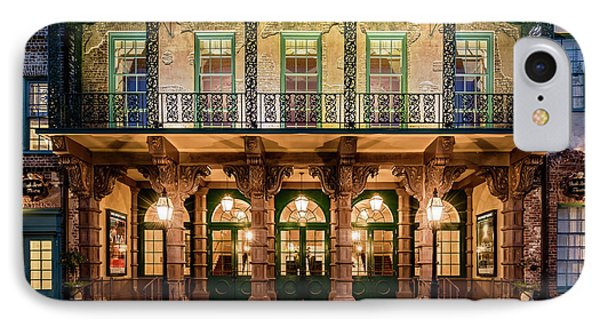IPhone Case featuring the photograph Historic Dock Street Theatre by Carl Amoth