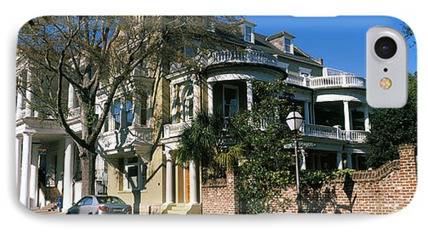 Historic Houses In A City, Charleston IPhone Case by Panoramic Images
