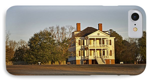 Historic Kershaw House IPhone Case by Skip Willits