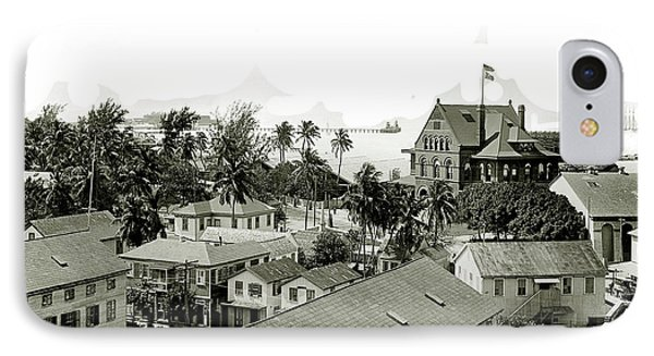 Historic Key West IPhone Case by Jon Neidert