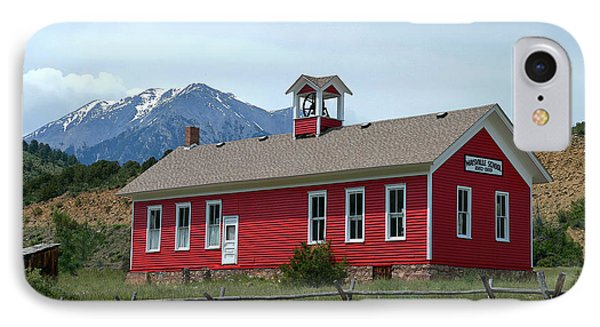 Historic Maysville School In Colorado IPhone Case