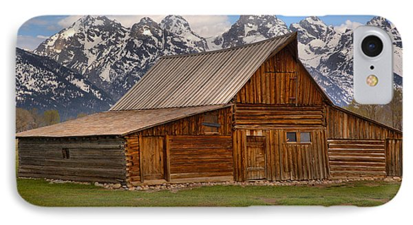Historic Moulton Barn IPhone Case by Adam Jewell