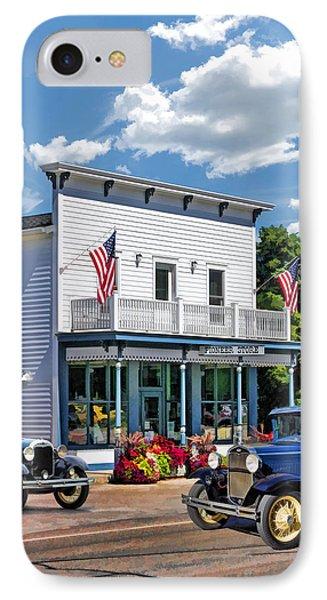 Historic Pioneer Store In Ellison Bay Door County IPhone Case by Christopher Arndt