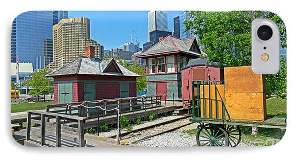 Historic Railway Site In Toronto IPhone Case by John Malone