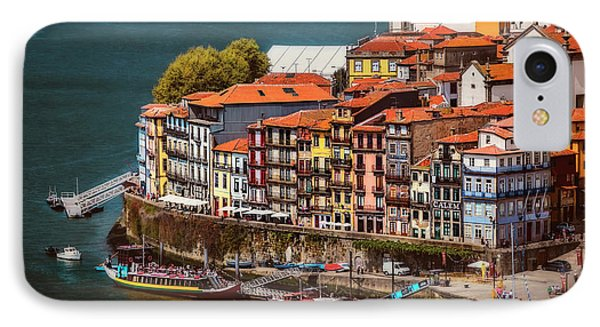 Historic Ribeira Porto  IPhone Case by Carol Japp