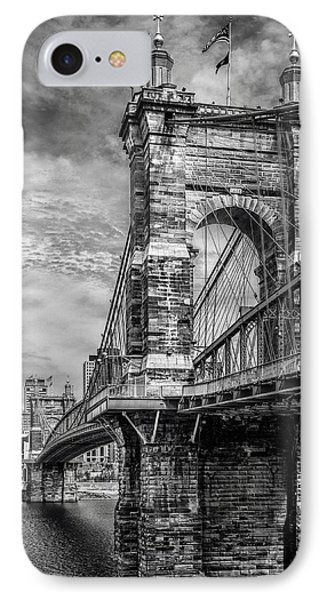 Historic Roebling Bridge IPhone Case by Diana Boyd