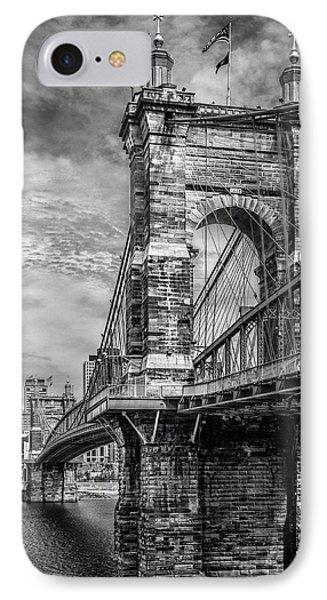 Historic Roebling Bridge IPhone Case