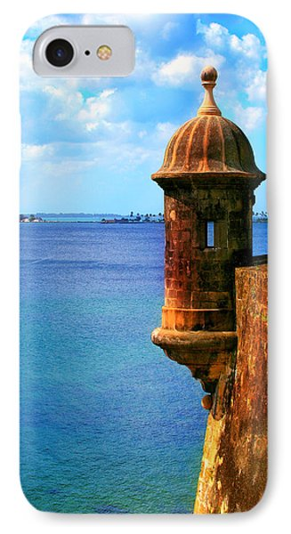 Historic San Juan Fort IPhone Case by Perry Webster