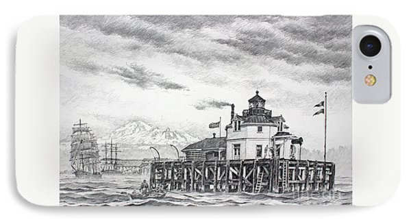 Historic Semiahmoo Lighthouse  Phone Case by James Williamson