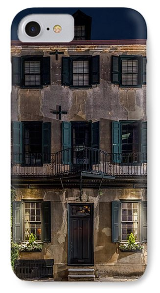 IPhone Case featuring the photograph Historic William Vanderhorst House, Charleston by Carl Amoth