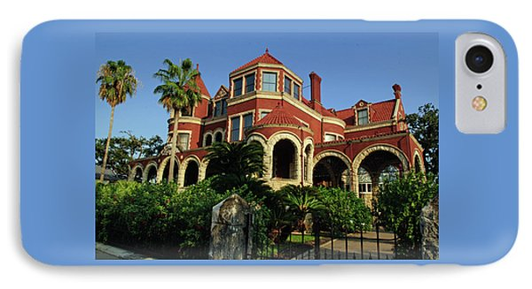 IPhone Case featuring the photograph Historical Galveston Mansion by Tikvah's Hope