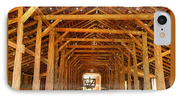 Historical Long Barn IPhone Case