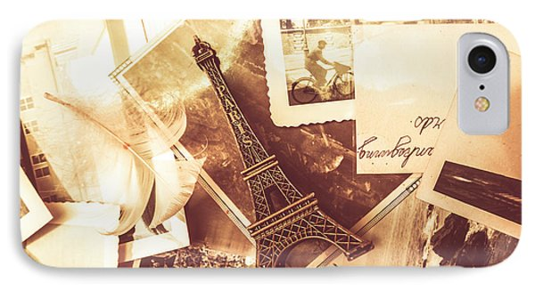 History And Sentiment Of Vintage Paris IPhone Case by Jorgo Photography - Wall Art Gallery