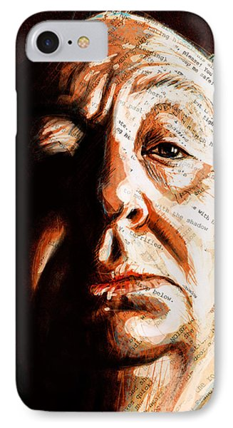 Hitchcock IPhone Case by Fay Helfer