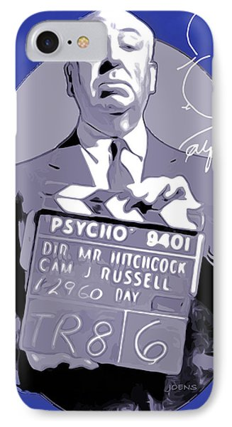 Hitchcock IPhone Case by Greg Joens