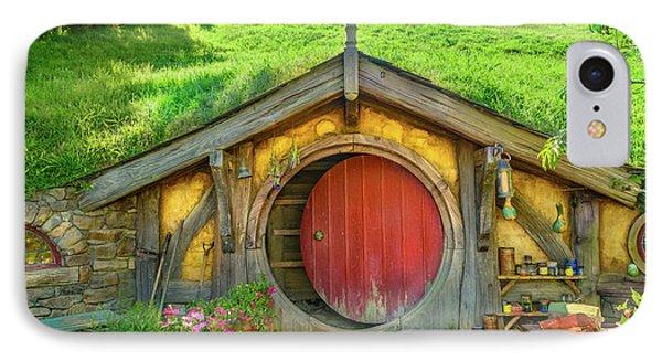 Hobbit House IPhone Case by Racheal Christian